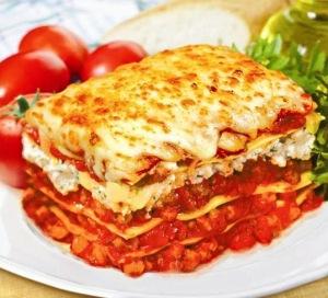 sausage-lasagne